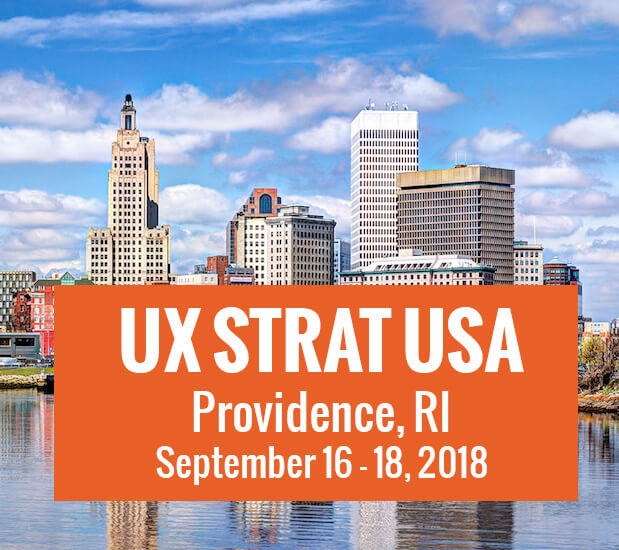 UX STRAT USA, September 2018 link